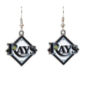 MLB Dangle Earrings - Tampa Bay Rays