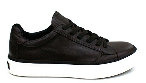 Roberto Botticelli Limited Sneaker Uomo Pelle Bufalo T.Moro_41