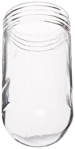 Rab Lighting Gl100Hr 100 Series Vaporproof Threaded Heat Resistant Glass Globe, 150W Power, Clear