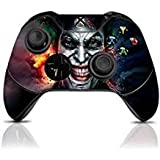 (Joker) Custom Xbox One Controller with Exclusive Design Vinyl Skin Decal Uniquely Hand Painted and Air-Brushed (Color: Joker)