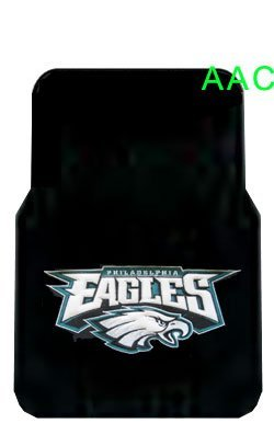 2 Universal Front Floor Mats Nfl Philadelphia Eagles back-569802