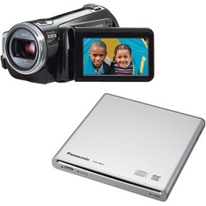 Panasonic HDC SD5 AVCHD 3CCD Flash Memory High Definition Camcorder with 10x Optical Image Stabilization w DVD Burner