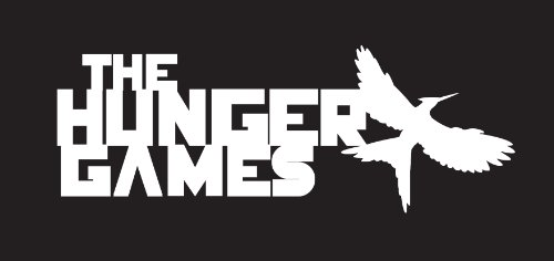 Hunger Games Sticker Decal White