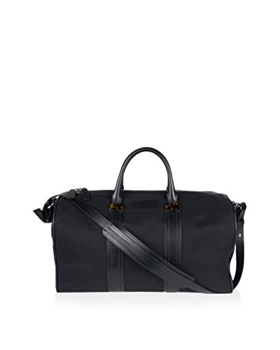 Tom Ford Men's Large Duffel Bag with Removable Shoulder Strap, Black