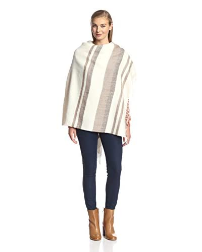 Alicia Adams Alpaca Women's Horizon Wrap, Chocolate