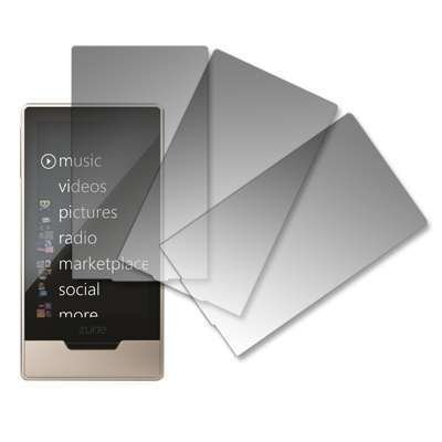 3 Pack of Premium Crystal Clear Screen Protectors for Microsoft Zune HD 16 GB...
