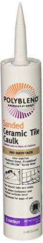 CUSTOM BLDG PRODUCTS PC38010S-6 10.5-Ounce Haystack Tile Caulk (Custom Caulk compare prices)