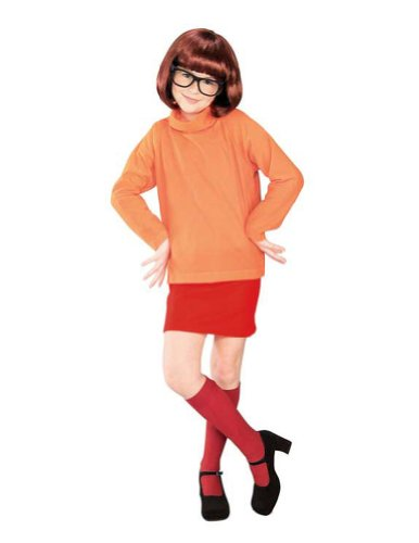 Scooby Doo Velma Child Lg Kids Girls Costume