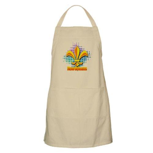 Cafepress New Orleans Fluer De Lis BBQ Apron - Standard