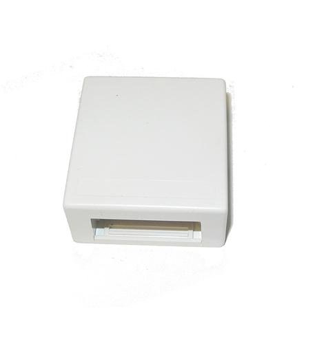 Suttle 1 Suttle Surface Mount Box - White