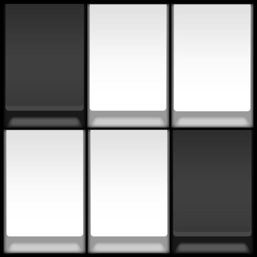 Tap Black: Avoid white tile