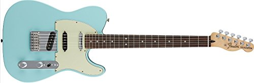 Fender Deluxe Nashville Telecaster Electric Guitar, Rosewood Fingerboard, Daphne Blue (Fender Electric Guitar Deluxe compare prices)