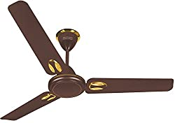 Luminous Twinkle 1200mm 70-Watt High Speed Ceiling Fan (Choco Brown)