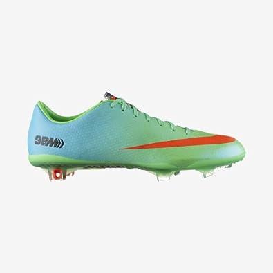 Nike Mercurial Vapor IX FG Soccer Cleat (Neo Lime) by Nike