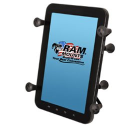 Ram Mount Universal X-Grip II Tablet Holder with 1-Inch Ball for Small Tablets Including iPad mini (RAMHOLUN8BU) (Xgrip Ii compare prices)