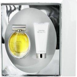 CALVIN KLEIN BEAUTY by Calvin Klein EAU DE PARFUM SPRAY 3 4 OZ and BODY LOTION 3 4 OZ