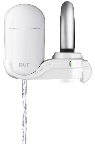 PUR FM-3333B 2-Stage Vertical Faucet Mount, White (Basic Faucet Water Filter compare prices)