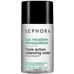 Sephora Triple Action Cleansing Water 1.69 oz NEW