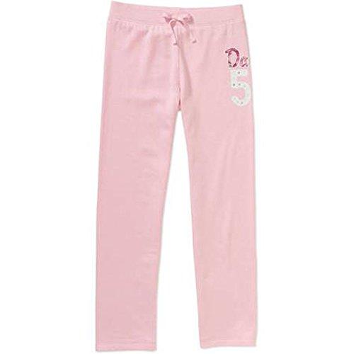 Danskin Girls Fleece Pant (4/5, Pink) (Danskin Girls Pants compare prices)