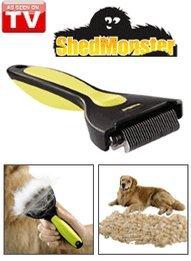 Shedmonster De-Shedding Tool For Medium To Long Coats front-255343