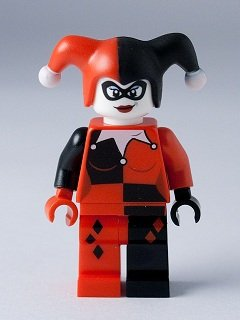 Harley Quinn - Lego Batman Minifigure 2012 Version at Gotham City Store