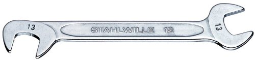 Stahlwille 12-4 Steel Electric Small Double Open End Spanner, 4Mm Diameter, 70Mm Length, 10.5Mm Width