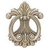 Fleur DLis Door Knocker- Satin Nickel