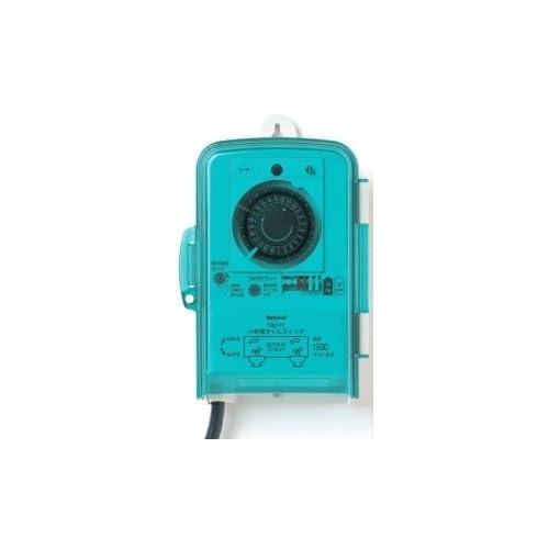 パナソニック 防雨型24時間タイムスイッチ(電源コード付・コンセント付)Panasonic 交流モーター式 TBC-171