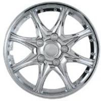 8 Star Wheel Cover - Chrome 14 Inch