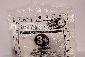 Vintage Kids Meal Jack in the Box