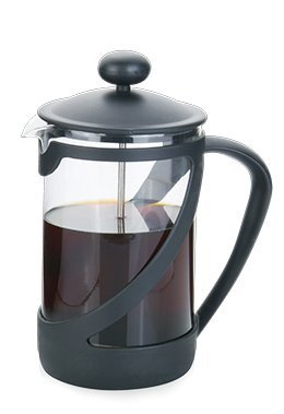 French Coffee Press (Black) - Espresso and Tea Maker with Great Filters, - Coffee Pigs