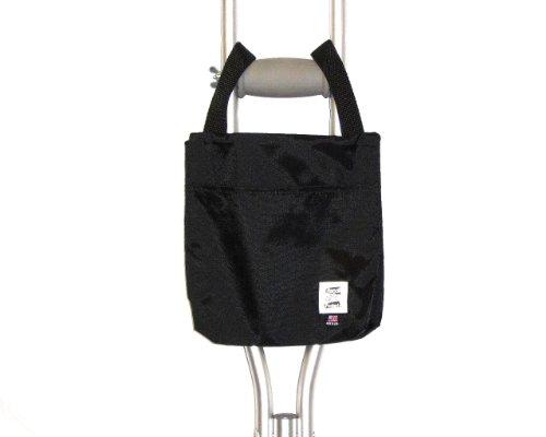 Handi Pockets 1a4bk Storage Accessory Crutch, Nylon, Black