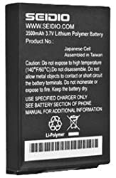Seidio BACY35HTNCS-BK Innocell Battery for HTC Incredible 2/S (Black)