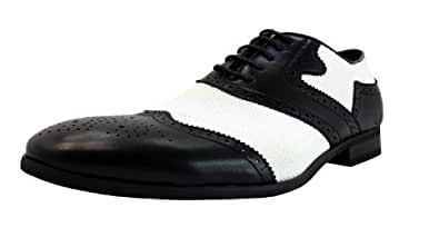 sideick s black white wingtip oxford 7 m