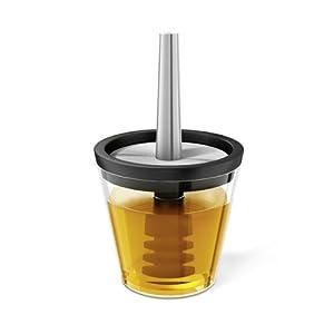 ZACK 20604 Mel Honey Pot, 6.4 by 3.74-Inch