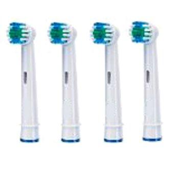 4 x testine di ricambio generiche per spazzolini oral b - Porta testine oral b ...