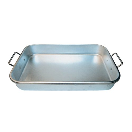 Winware 12-Inch by 18-Inch by 2-1/4-Inch Aluminum Bake Pan with Drop Hand
