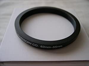 HeavyStar Dedicated Metal Step Down Ring 62-55mm