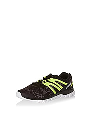 Reebok Zapatillas Sublite Xt Cushion (Negro / Amarillo Claro / Blanco)