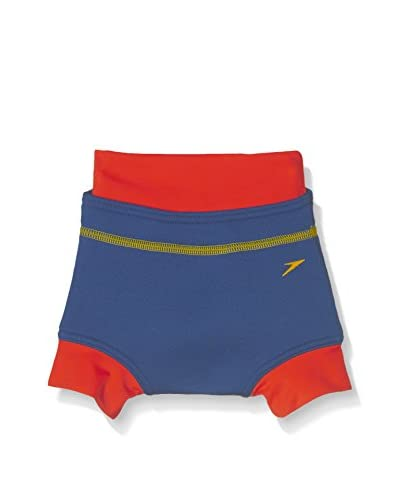Speedo Badeslip Spd Swimnappy Cover Im Blue blau