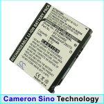 Replacement battery for Samsung SGH-U700, SGH-U700v, SGH-U708, SGH-Z720, SGH-Z720v, SGH-Z728, SGH-G800, SGH-G808, SGH-C170, SGH-C178, SGH-C180, SGH-Z370, SGH-Z150, SGH-A801, SGH-A811, SGHL870, SGH-S5230, GT-S5230 Star, M8910 Pixon12, Sway U650, Renown U8