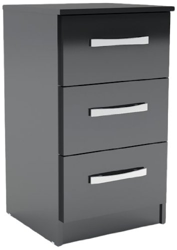 birlea-lynx-3-drawer-high-gloss-bedside-table-black