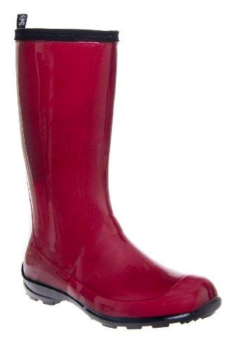 Kamik Heidi Tall Lug Sole Rainboot - Red