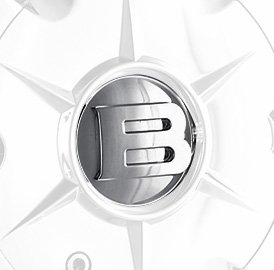 Mr. Lugnut C2150C Chrome Plastic Center Cap for Athlete Wheels (Mr. Lugnut)