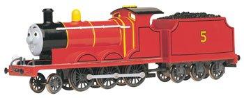 Imagen de Bachmann trenes Thomas & Friends - James El motor rojo con ojos móviles