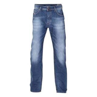 Diesel Larkee Relaxed 0811E Mens Jeans Used Denim 32 L30