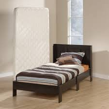 Mainstays Twin Platform Bed With Headboard Cinnamon