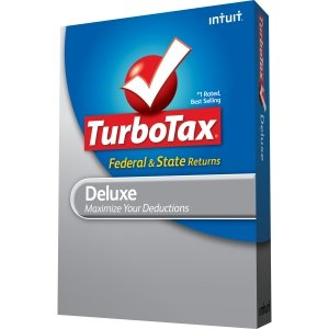 Intuit TurboTax Deluxe Tax Preparation Software