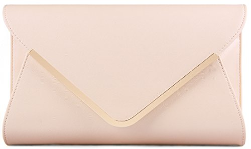 ILISHOP High-end Brand Evening Envelope Clutches Bag for Women New Handbags Shouder Bags (Cream Clutch compare prices)