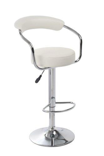 Sgabelli design moderni bar e cucina 2 sgabelli bianchi - Sgabelli moderni per cucina ...